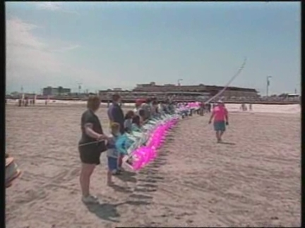 USA - Kites Set High-Flying World Record
