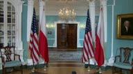 ++US Pompeo Poland