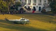 US Trump Departure White House