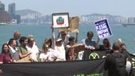 Hong Kong Climate Protest