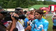 Cycling Tour de France 19 Reaction