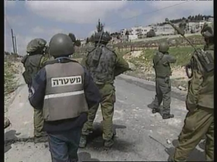 WEST BANK: PALESTINIAN/ISRAELI CLASHES CONTINUE FOR 5TH DAY