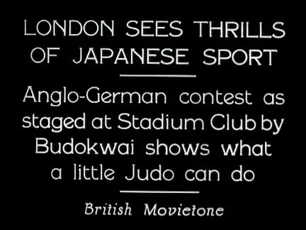 London Sees Thrills Of Japanese Sport