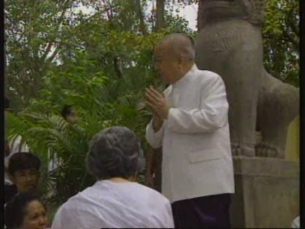 CAMBODIA: KING NORODOM SIHANOUK REFUSES TO PARDON HIS SON