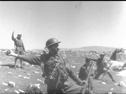 ARABS TRAINING AT HEBRON - NO SOUND