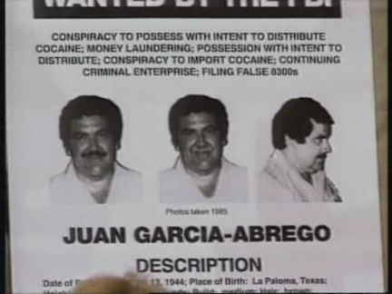 USA: MEXICAN ALLEGED DRUG BARON ON FBI WANTED LIST