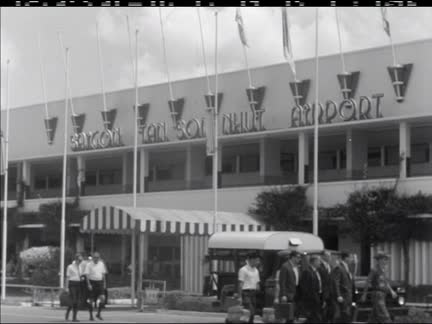 SENATOR EDWARD KENNEDY IN SAIGON  - NO SOUND