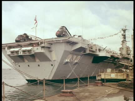 PRINCE CHARLES VISITS PORTSMOUTH - COLOUR