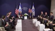 Switzerland WEF Trump Netanyahu (NR)