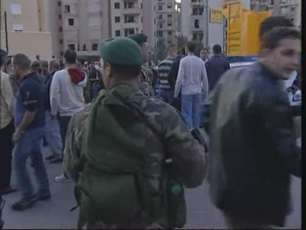 Lebanon Minister Wrap