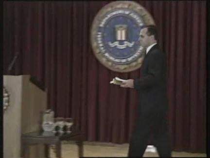USA: WASHINGTON: FBI AGENT EARL EDWIN PITTS ACCUSED OF SPYING