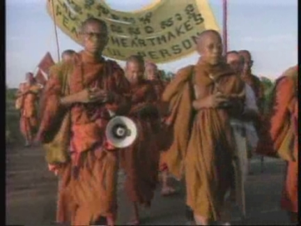 Cambodia - Buddhist Monks Peace March
