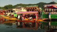 (HZ) India Kashmir Boats