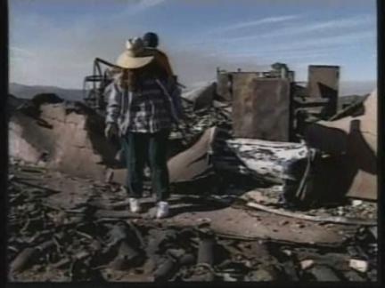 USA: CALIFORNIA: WILDFIRE