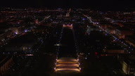 US DC National Mall Lights