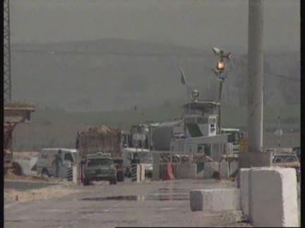 WEST BANK/GAZA STRIP: ISRAEL PARTIALLY LIFTS BLOCKADE