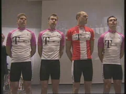 GERMANY: CYCLING: DEUTSCHE TELEKOM CYCLING TEAM UNVEIL LINE-UP