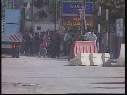 WEST BANK: PALESTINIAN PROTESTERS CLASH WITH ISRAELI TROOPS