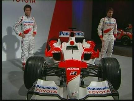 SNTV F1 Toyota