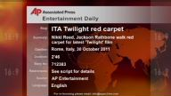 Entertainment ITALY Twilight red carpet