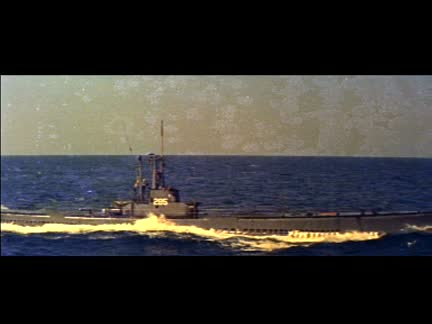 CLEAR THE BRIDGE - LATE 1950'S -  COLOUR  - CINEMASCOPE