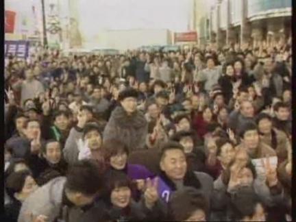 South Korea-Panic buying leaves supermarkets short