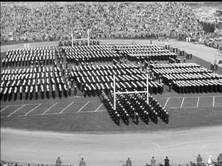 ARMY V NAVY AMERICAN FOOTBALL - SOUND