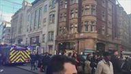 UK Oxford Circus Evac