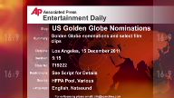 Entertainment US Golden Globe nominations