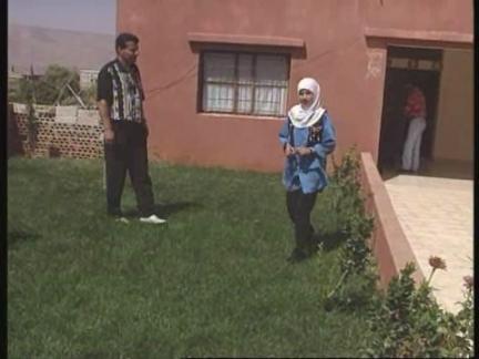 Lebanon - Girl sheds glass tears