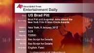 Entertainment US Brad Pitt