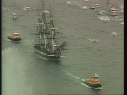 USA: MASSACHUSETTS: USS CONSTITUTION SAILS FOR 1ST TIME IN 116 YEARS