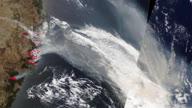 Space Australia Fires