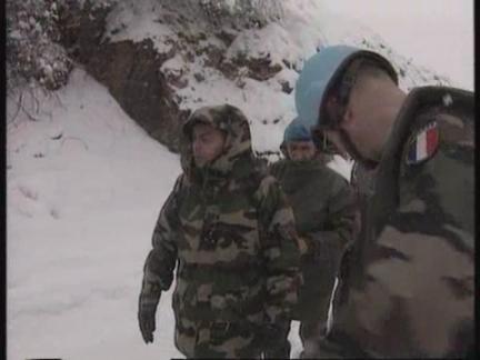 BOSNIA: BOSNIAN TROOPS MEET PULL OUT DEADLINE