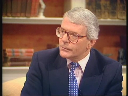 UK - John Major on Northern Ireland ceasefire