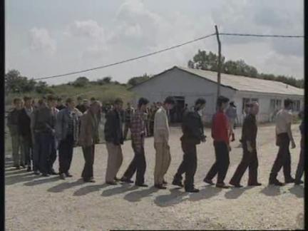 SERBIA: BOSNIAN TROOPS HELD PRISONER IN UZICE CAMP