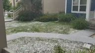 US Hail Hits Utah