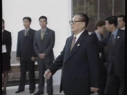 China APEC Jiang Bush 2