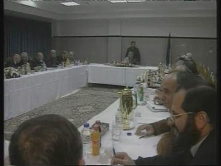 GAZA: PALESTINE CABINET CALLS FOR NEGOTIATIONS