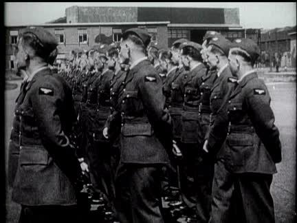 Czech Troops Reviewed