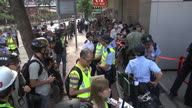 Hong Kong Protest Clash