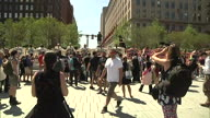 US OH RNC Wall Protest (NR)