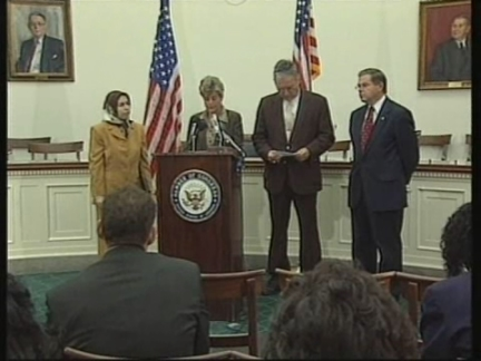USA: WASHINGTON: CONGRESS RELATIONS WITH IRAN PRESS CONFERENCE