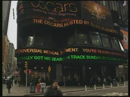 Entertainment NYC Oscar Statue