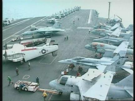 Persian Gulf - USS Washington on alert
