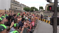 Cycling Tour de France 21 Reaction