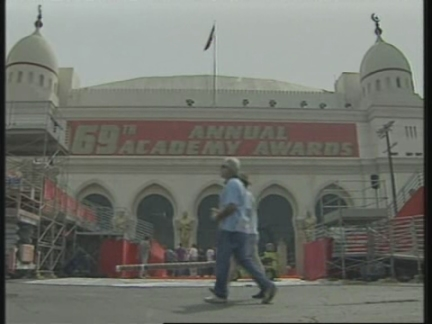 USA: LOS ANGELES: PREPARATIONS FOR 69TH ANNUAL ACADEMY AWARDS