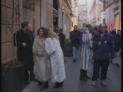 Italy Fur Protest