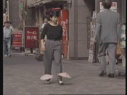 JAPAN: WACKY INVENTOR SHOWS OFF INVENTIONS