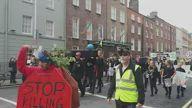 IRL XR Protest Dublin 2